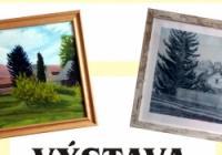 Krajina kreslená a malovaná