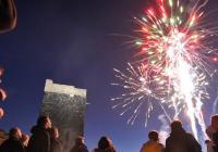 Hradní ohňostroj k ukončení sezóny na Chebském hradě