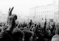 Sametová revoluce 1989