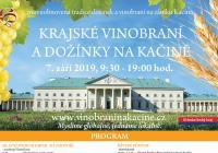 Vinobraní - Zámek Kačina