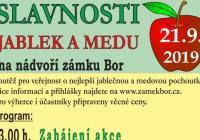 Slavnosti jablek a medu - Zámek Bor