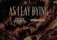 As I Lay Dying v Praze