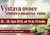 Výstava ovoce na zámku Kroměříž