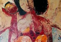 Eva Černohorská / Žena a jablko