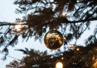 Rozsvícení vánočního stromu na Strossmayerově náměstí - Praha