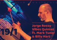 Jorge Rossy Vibes Quintet ft. Mark Turner and Billy Hart