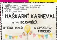 Karneval pro děti - Kostelec nad Orlicí