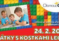 Hrátky s kostkami lego - Olomouc City