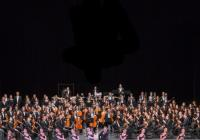 Novoroční koncert s baletním vystoupením