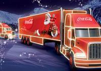 Vánoční kamion Coca Cola - České Budějovice