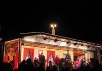 Vánoční kamion Coca Cola - Pardubice