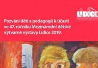 47. ročník Mezinárodní dětské výtvarné výstavy Lidice