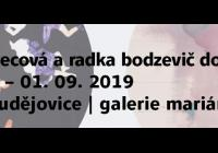 Petra Švecová a Radka Bodzevič Doubravová