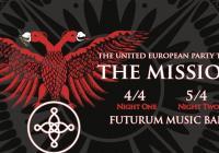 The Mission v Praze Přeloženo