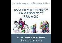 Svatomartinský lampionový průvod - Žirovnice