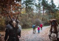 Noční strašidelný les v Hostivařském lesoparku