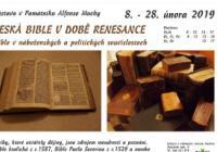 Česká bible v době renesance