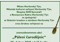Pálení čarodějnic - Horšovský Týn