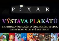 PIXAR / výstava plakátů k animovaným filmům světoznámého studia, které slaví 30 let své existence