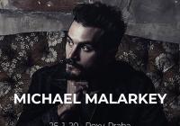 Michael Malarkey v Praze