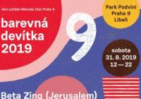 Barevná devítka v Praze