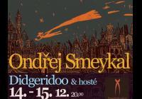 Předslunovratový koncert Ondřeje Smeykala. Didgeridoo, gongy, hosté