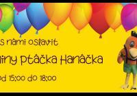 Ptáček Hanáček slaví narozeniny - Obchodní centrum Haná Olomouc