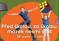 Před školou za školou mozek nesmí stát - Aqupark Hradec Králové