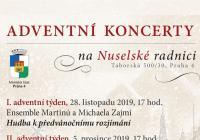 Adventní koncerty na Nuselské radnici