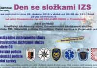 Den se složkami IZS - Velodrom Prostějov