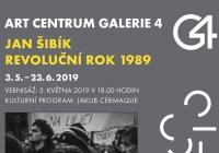Výstava Jan Šibík Revoluční rok 1989