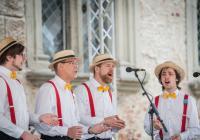 Letní koncert Sotto Voce a Boaters