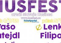 Husfest - multižánrový festival - Areál Slavoje Husinec