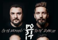 Post-It v Praze