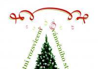 Rozsvícení vánočního stromu - Praha Lochkov