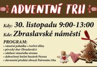 Adventní trh - Praha Zbraslav