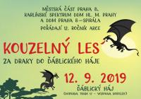 Kouzelný les - Ďáblický háj v Praze