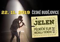 Půlnoční vlak Michala Tučného - České Budějovice