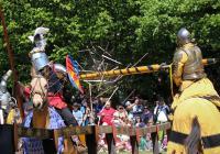 Turnaje, pohádky, rytíři a koně na Landštejně