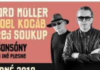 Richard Müller, Michael Kocáb, Ondřej Soukup v Liberci
