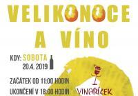 Velikonoce a víno - Moravská Nová Ves