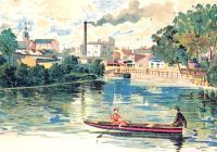 Opava a její řeka