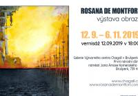 Rosana De Montfort - Výstava obrazů