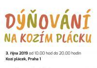 Dýňování na Kozím plácku - Praha