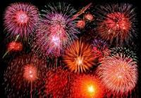 Novoroční ohňostroj - Prachatice