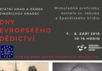 Dny evropského dědictví - Zámek Jindřichův Hradec