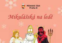 Mikulášská na ledě kluziště u ZŠ Glowackého - Praha