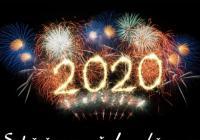 Novoroční ohňostroj - Bělá nad Svitavou