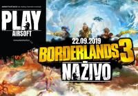 PlayAirsoft.cz - Borderlands 3 Naživo