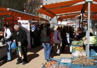 Farmářské trhy na Tylově náměstí v Praze